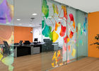 Professional Digital Images Printed On Glass Customized For Interior Decoration