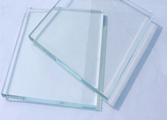 Ultra Clear Low Iron Toughened Glass , Safety Toughened Tempered Glass
