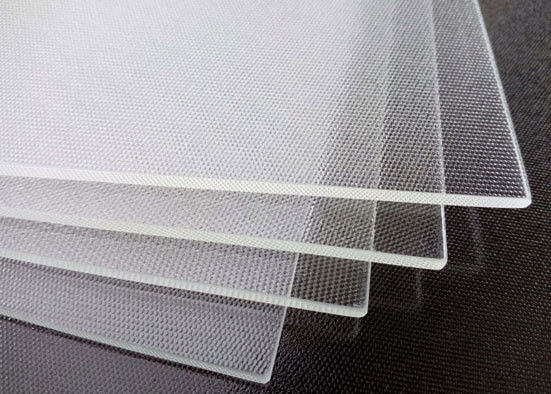 Professional Solar Panel Glass , Patterned Toughened Glass OEM Accepted